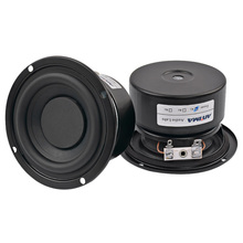 AIYIMA 2Pcs 3Inch 25W Audio Speaker Portable Stereo Speakers Woofer Full Range Horn Subwoofer Mid Bass Loudspeaker 4 Ohm 8 Ohm