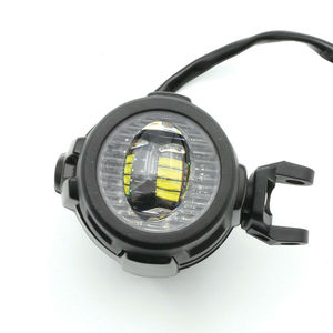 Image 2 - 2 sztuk 40W światło pomocnicze LED lampa 6000K Super jasne mgła światło drogowe zestawy LED żarówki DRL do motocykli BMW K1600 R1200G