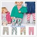 1-6 Anos Novo 2016 a Qualidade Da Marca Lycra Algodão Bebê Leggings Meninas Da Criança Roupa Dos Miúdos Crianças Legging Meninas Longa
