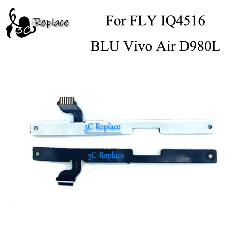 Button Keypad Volume Flex Cable Ribbon For Fly Iq4516 Tireless On/off Power Blu Vivo Air D980l Free Shipping Order Tracking