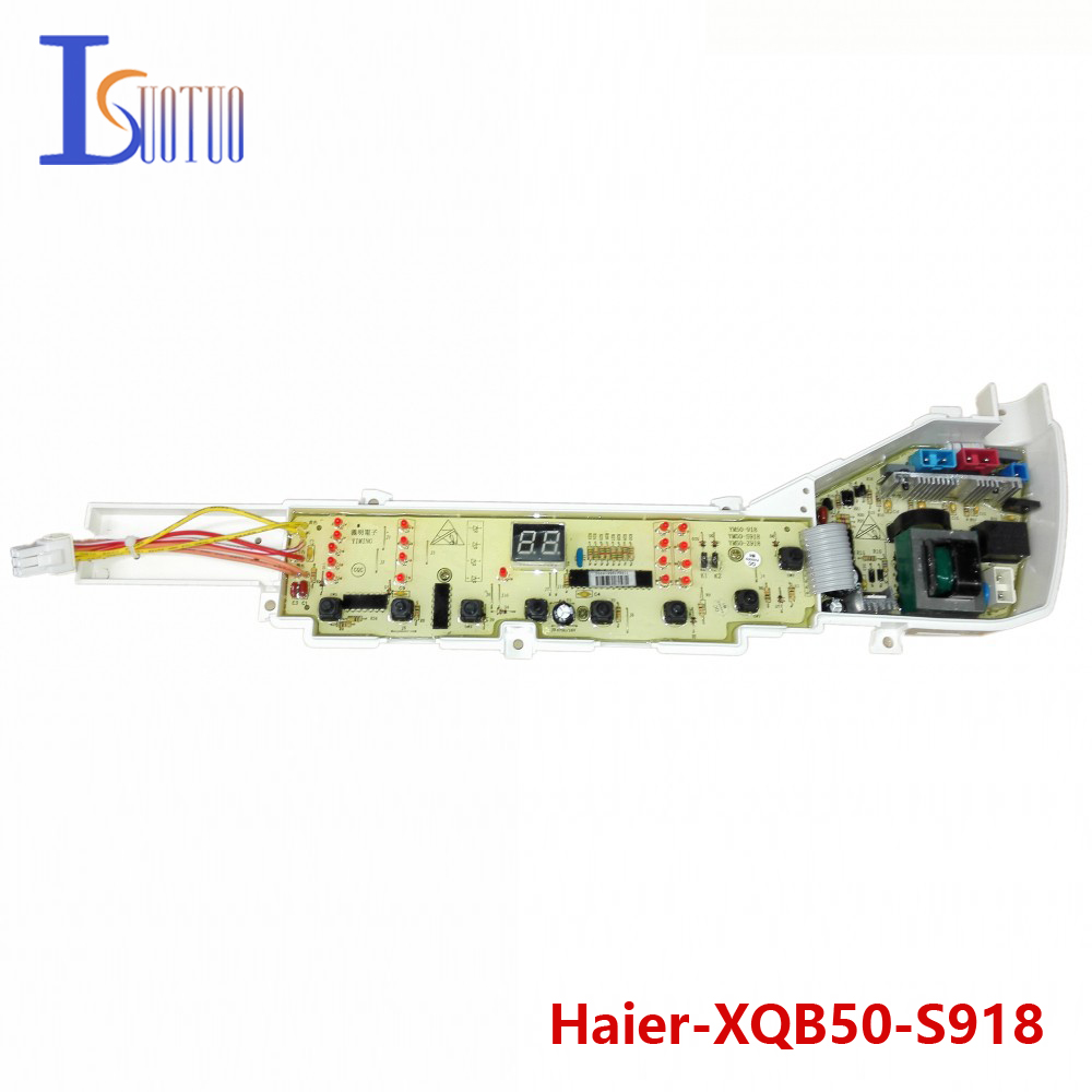 Haier washing machine brand new computer board XQB50-S918 XQB50-918 LM XQB50-Z918 free shipping 100% tested washing machine board for haier xqb50 0528 xqb60 0528a on sale