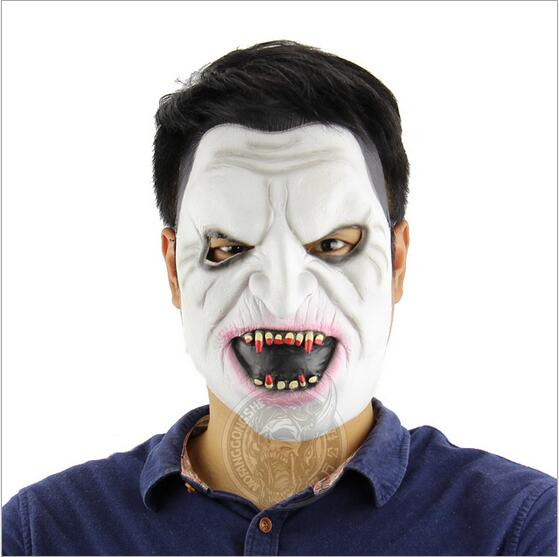 1PC Hot Sale Halloween Vampire Mask Adult Latex Zombie Mask FANCY DRESS Costume Masquerade Party Carnival Full Face Horror Mask