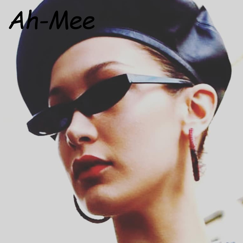Small Square Sunglasses Women Vintage Rectangle Sun Glasses Men Narrow Unisex Frame Retro Brand Black Cheap Eyewear Goggle Uv400