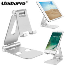 Dual Adjustable Aluminium Ponsel Tablet Stand Pemegang untuk Samsung Galaxy S10 S9 S9 + S8 S7 Edge S6 S5 Catatan 10 9 8 A3 A5 A7 A8 A9(China)