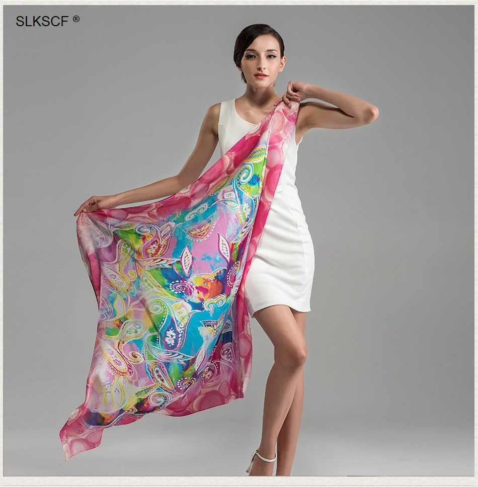 [SLKSCF] 110X110 см Модный квадратный шелковый шарф Шелковый жоржетовый, сатиновый шарфы hijabs солнцезащитные накидки женские шали платок