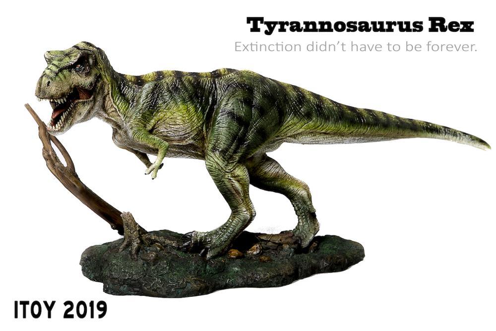 2019 년 새 버전 itoy 쥬라기 공룡 모델 tyrannosaurus rex-에서액션 & 장난감 숫자부터 완구 & 취미 의  그룹 3