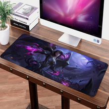 Siancs Custom DIY 70x30cm Large LOL Mouse pad Mice Gamer Keyboard Mat XL Grande Gaming Mousepad for Tablet PC Latop Zoe Kaisa(China)