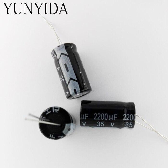 35V 2200uf   5PCS  Aluminum Electrolytic Capacitor