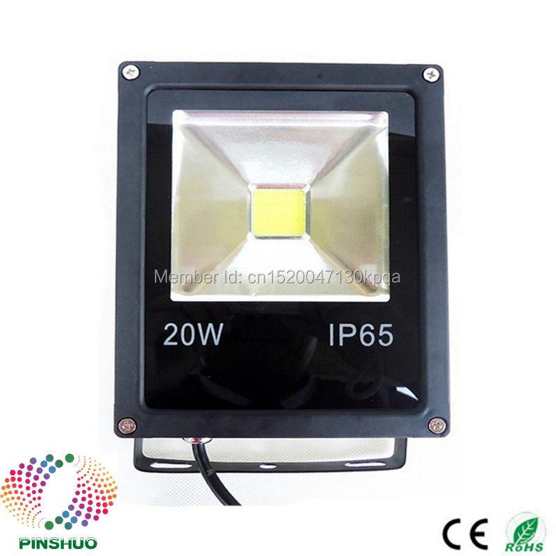 (8PCS/Lot) DC12V 24V Warranty 3 Years Brigdelux Chip 20W LED Flood Light 12V LED Floodlight Outdoor Tunnel Spotlight Bulb