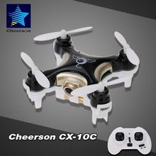Cheerson CX-10C 2.4G 4CH 6 Achsen RC Quadcopter Mini-Drone RTF With 0.3MP Camera