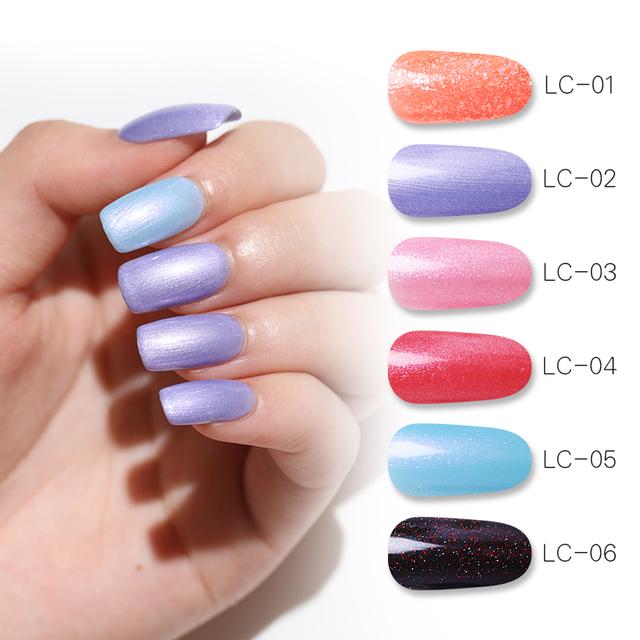 LILYCUTE UV 8ml Pearl Glitter UV Nail Gel
