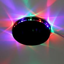 2016 New Arrive Auto Rotating Stage Light DJ Lamp Bulb Stage Lighting Magic Ball Bulb Voice Control Free Shipping