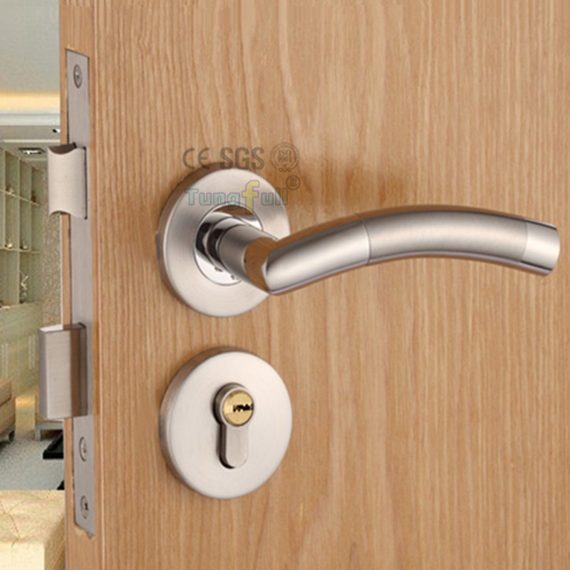Design security door lock with key stainless steel safe for Door key design