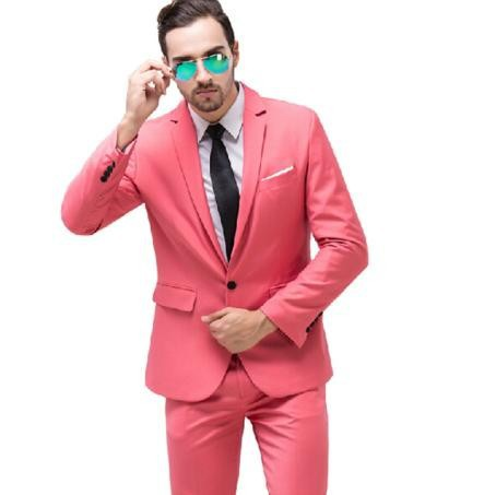 Popular Men Pink Suits-Buy Cheap Men Pink Suits lots from China ...