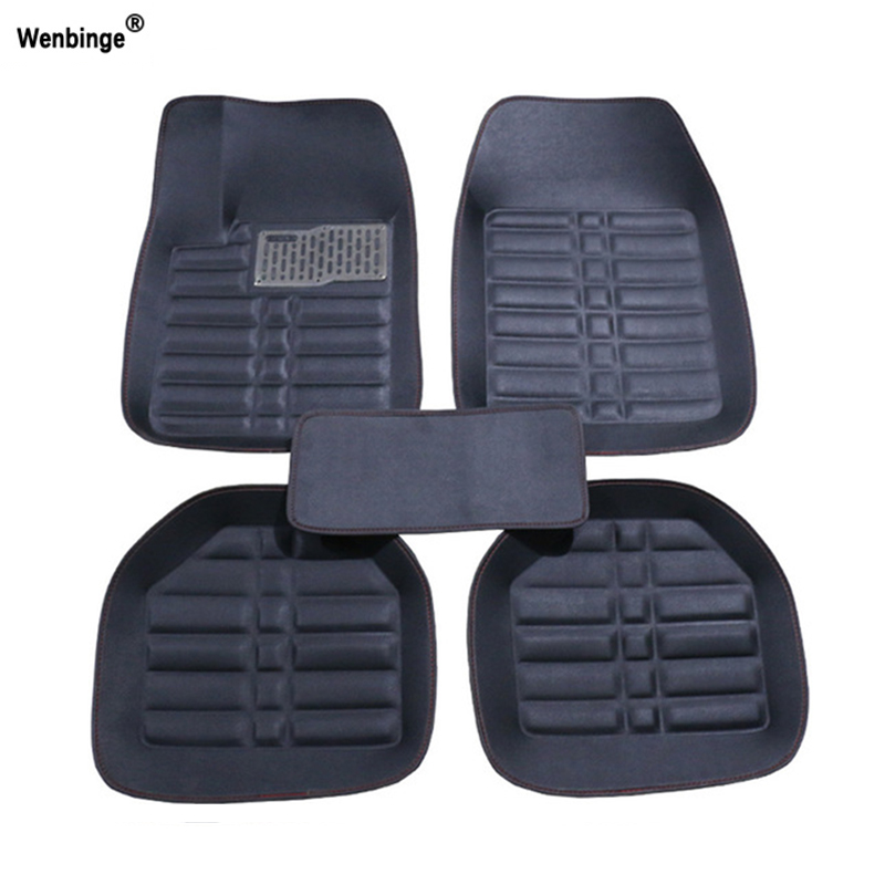 Wenbinge Universal car floor mat For Land Rover freelander 2 discovery 3 evoque car accessories waterproof carpet car carpet