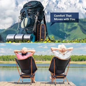 Image 2 - נייד מתקפל דיג כיסא קמפינג מנגל כלי לנשימה טיולים מושב ריהוט גן Ultralight חיצוני קומפקטי דיג כיסא
