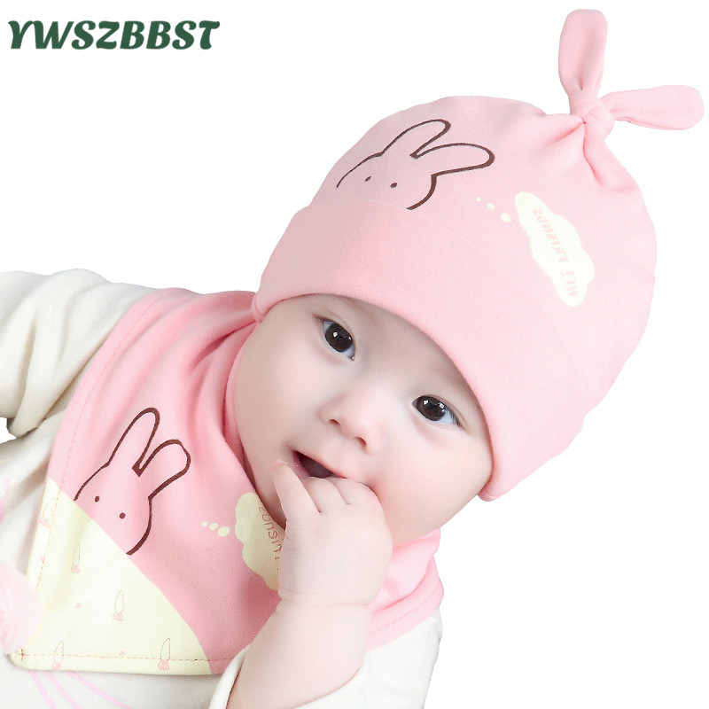 New Fashion Baby Hats for Infant Caps Cotton Baby Hat set Spring Autumn Baby Girl Caps Kids Cap Beanies 0-12M Toddlers Cap