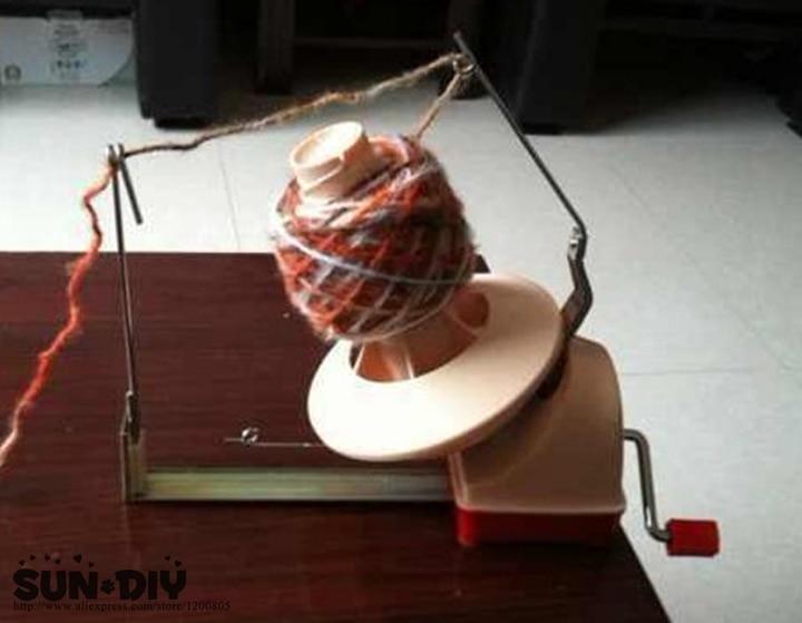 Livraison gratuite grande taille fil rouge machine d'enveloppe de fil, fil main-bobineuse outils de couture, machine à tricoter, machine à fil