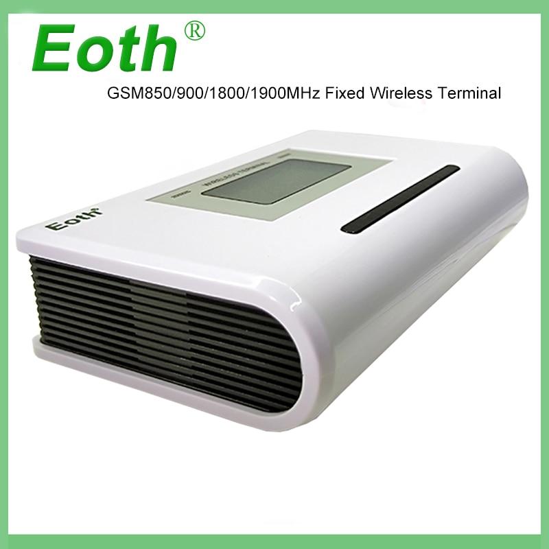 5 pcs Eoth GSM 850/900/1800/1900 MHZ terminal Fixo sem fio com display LCD, sistema de alarme de apoio PABX voz clara, sinal estável