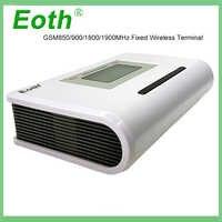 5 piezas Eoth GSM 850/900/1800/1900 MHZ terminal fijo inalámbrico con pantalla LCD sistema de alarma compatible con voz clara y señal estable