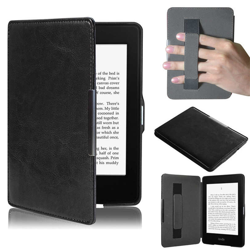 Hot-sale Tablet Case Cover Magnetic Premium Ultra Slim Leather Smart Case Cover For New Amazon Kindle Paperwhite 5 Drop Shipping slim leather case smart cover for amazon kindle paperwhite sleep wake crazy horse pattern magnetic buckle leather case