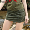 Women Short 2017 Summer Fashion Style Sexy Ladies Shorts Skirt Plus Size Mini Skorts Female Army Green Color Women Shorts Skirts
