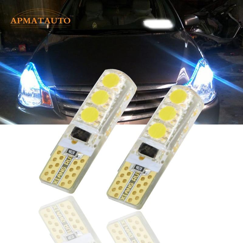 Par LED luz de separación bombilla de la lámpara del marcador para Nissan LIVINA Pathfinder TEANA Qashqai Bluebird Sylphy Sunny TIIDA MURANO NV
