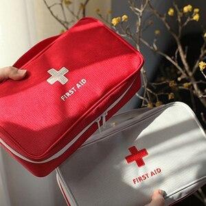 Image 3 - แบบพกพา Plus ขนาดกันน้ำ First Aid Bag Camping กระเป๋าบ้านกรณีฉุกเฉินทางการแพทย์ทางการแพทย์แพคเกจ