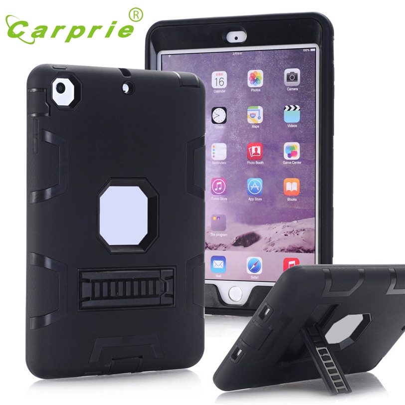 CARPRIE For iPad Mini /2 /3 Dual Layer Hybrid Armor Protective Stand Cover Case Feb7 MotherLander