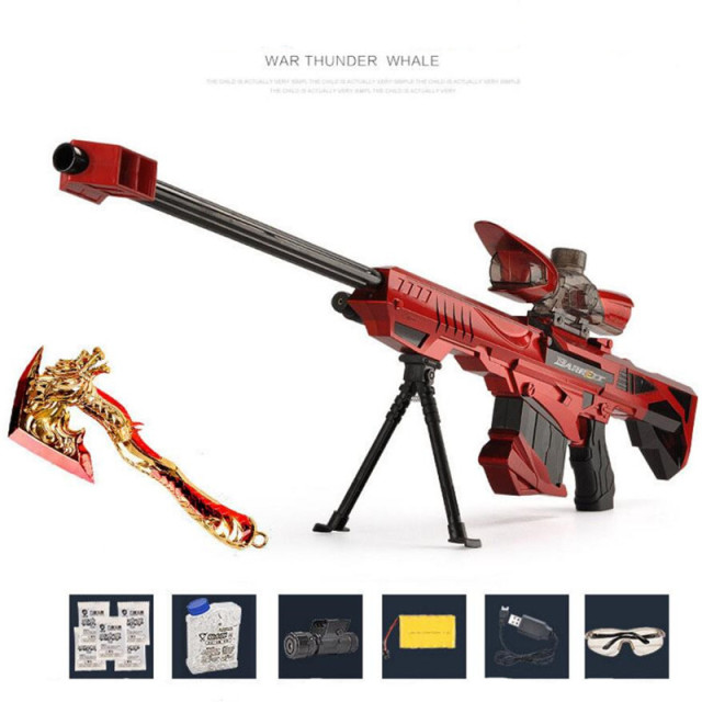 Electric Rifle Soft Bullet Live Cs Disassembled Assembled Toy Gun Sniper Rifle Pistol Water Paintball Gun