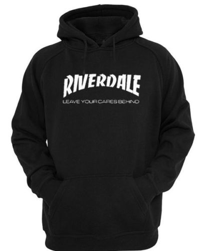 Riverdale Leave Your Cares Behind Hooded Sweatshirt Men's Clothing