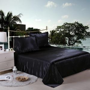 Image 4 - LOVINSUNSHINE Luxury Bed Linen Set Duvet Cover Single Comforter Bedding Sets King Size Silk AB04#