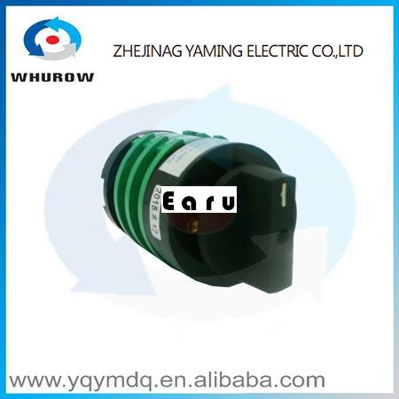 Factory Supplied KDHC-32/3X8 electrical switches for welding machine High voltage quality changeover rotary switch AC50Hz 32A 660v ui 10a ith 8 terminals rotary cam universal changeover combination switch