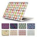 Прекрасный Cute Owl Жесткий Чехол Crystal Pro 13 15 С Сетчатки Дисплей ретро Сова Обложка для Macbook Air 13.3 12 11.6 Бесплатно стоимость Доставки