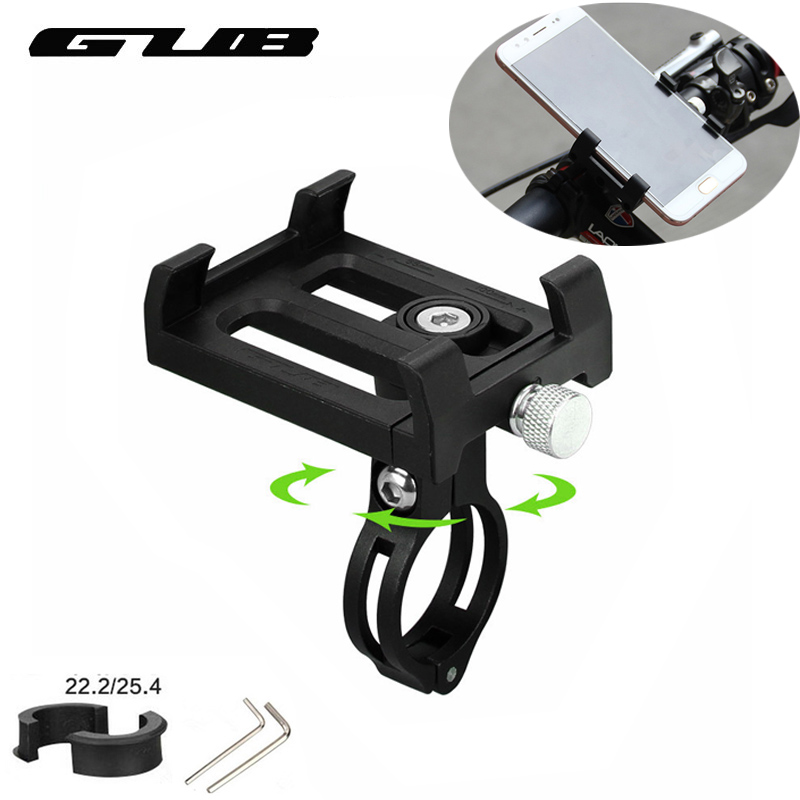 GUB Universal Fahrrad Telefon Halter 3,5-6,2 zoll Smartphone Bike Unterstützung Anti-Slip Motorrad Halterung Radfahren Telefon halter