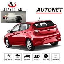 JIAYITIAN achteruitrijcamera voor Hyundai Accent RB/WIT/Grote Avega 5D hatch 2011 ~ 2017/Kentekenplaat reverse camera CCD backup