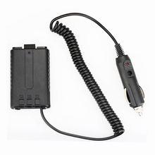 New 12V Car Radio Battery Eliminator Adapter Charger for BAOFENG UV-5R UV-5RA UV-5RC UV-5RE BF-F8+ 5RT 5RN walkie talkie belt clip for baofeng uv 5r uv 5ra uv 5rb uv 5rc 5rd 5re 5re
