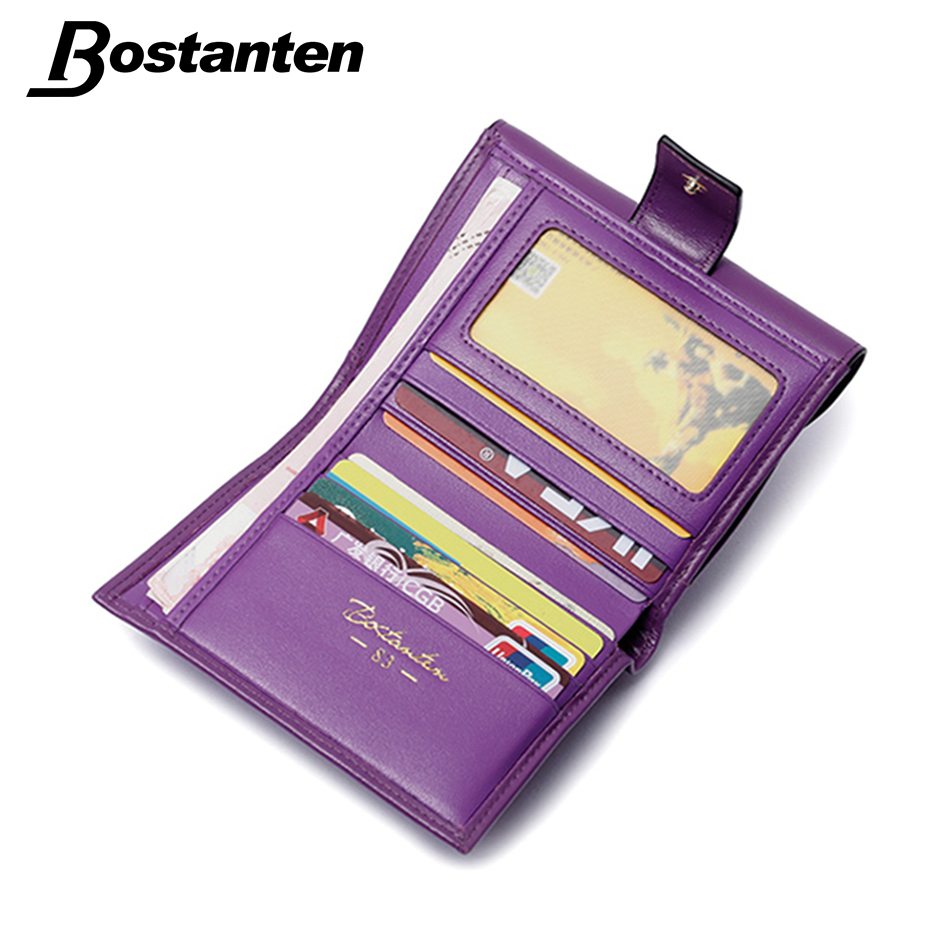 bostanten moda verdadeira carteira de Available Color : Blue, purple, rose Red