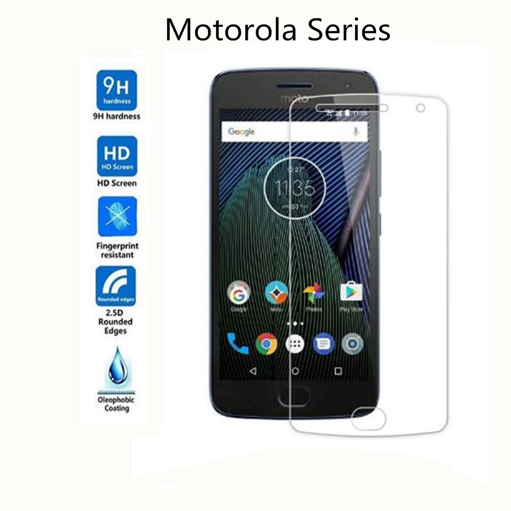 9H Tempered Glass For Motorola Moto C G4 G5 G6 Plus Play HD Screen Protector For Moto G5S Plus E4 X4 Glass Film image