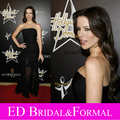 Kate Beckinsale Black Dress  Prom Evening 1st Hollywood Domino Tournament
