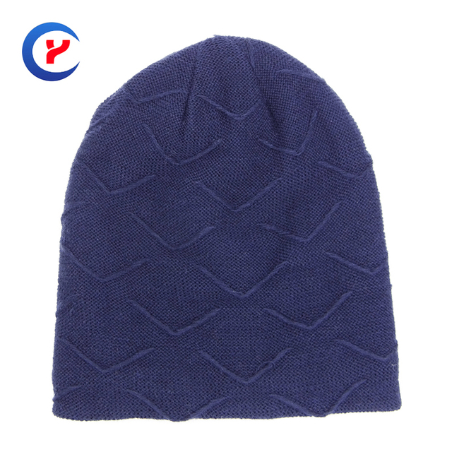 2017 New arrival Hot Classical blue solid Knitted hat for women High quality Warm simple style Knitting hat casual caops  #x23