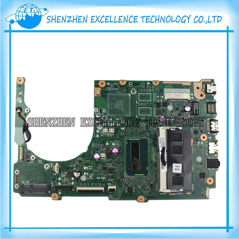 S301LA latop motherboard for ASUS integrated i5-4200CPU REV2.2 S301LA for ASUS mainboard