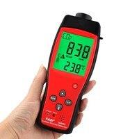 TA8403 Ручной цифровой диоксид углерода МЕТР CO2 детектор анализатор Высокая точность детектор CO2 газа мониторы тестер CO2 сенсор