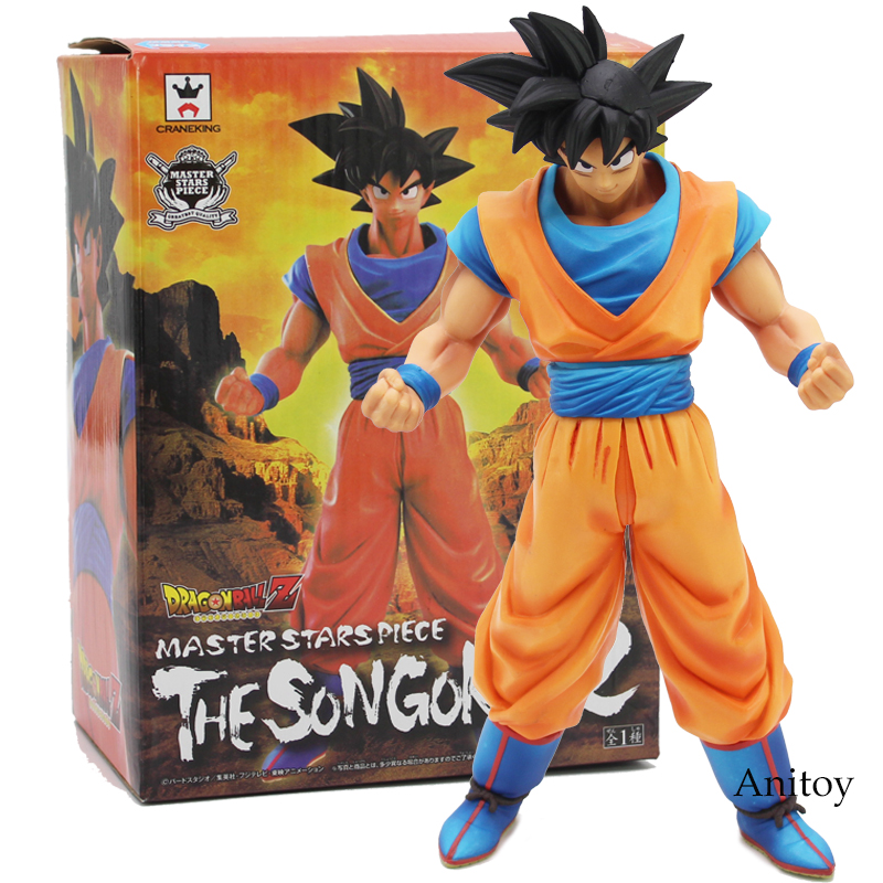 Dragon Ball Z Master Stars Piece The Son Goku 2 PVC Action Figure Collectible Model Toy 26cm