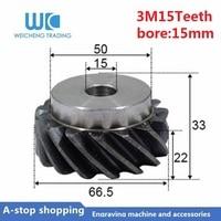 Tandwielkasten 3M 15 tanden Binnenste gat 15mm Cnc Hoge Precisie