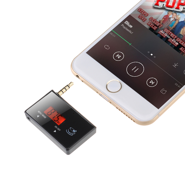 timeless design ae3bf dd552 US $6.19 |3.5mm In car FM Transmitter Radio Adapter for iPod iPad iPhone 6  5S 5C 5 5G 4S 4 3GS 3G Samsung Galaxsy S5 S4 Note 4 3 HTC ONE-in FM ...