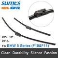 "Wiper blades for BMW 5 Series F07 F10 F11 (from 2010 onwards) 26""+18"" fit side pin type wiper arms only HY-026"