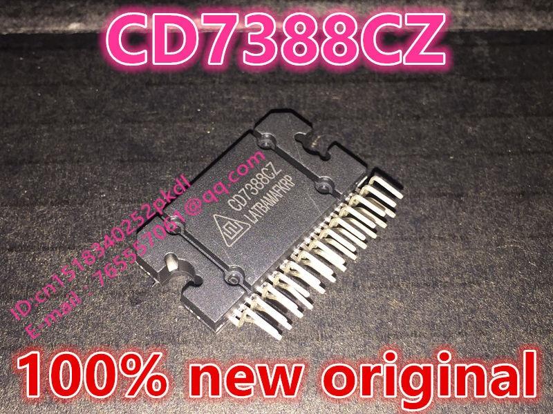 100% new imported original  TDA7388 CD7388CZ   YD7388 ZIP-25 automotive power amplifier chip IC integration
