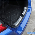 Acessórios fit para 2014 2015 honda fit jazz interior rear bumper protector sill placa trunk bota carga lip