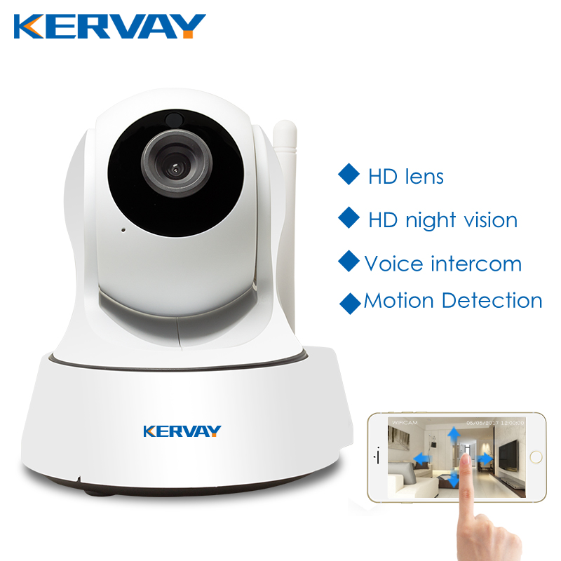 1080P HD Wifi Camera Network Surveillance Night Camera Indoor Home P2P CCTV Camera Wifi Function Onvif Camera With Two way Audio-in Surveillance Cameras from Security & Protection